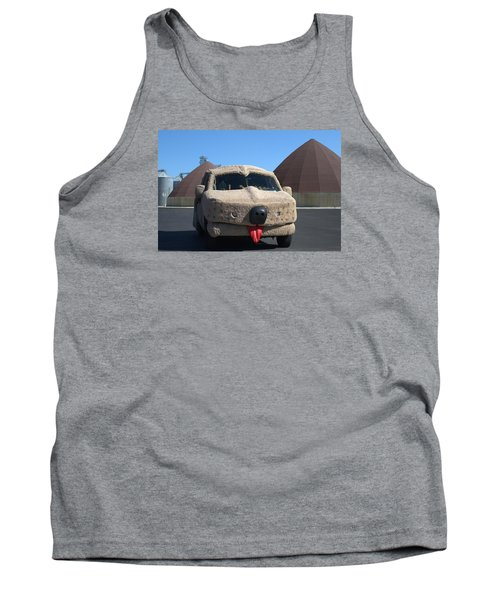 Mutt Cutts Dumb And Dummer Replica Vehicle Tank Top