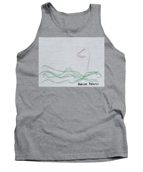 My First Golf Picture Tank Top