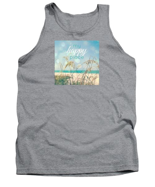 My Happy Place Tank Top by Valerie Reeves