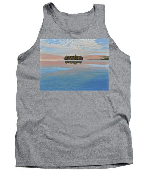Tank Top featuring the painting Mystic Island by Kenneth M  Kirsch