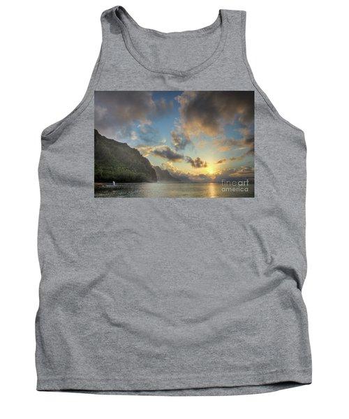 Napali Coast Sunset Kauai Tank Top