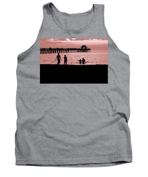 Naples Florida Sunset Tank Top