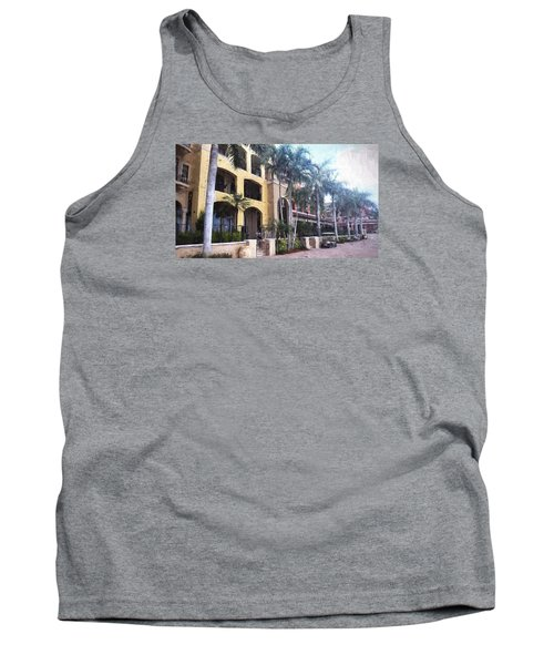 Naples On The Waterfront Tank Top by Rena Trepanier