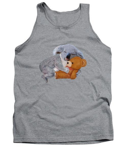 Naptime With Teddy Bear Tank Top by Glenn Holbrook
