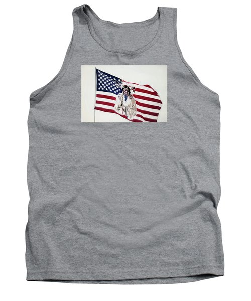 Native American Flag Tank Top