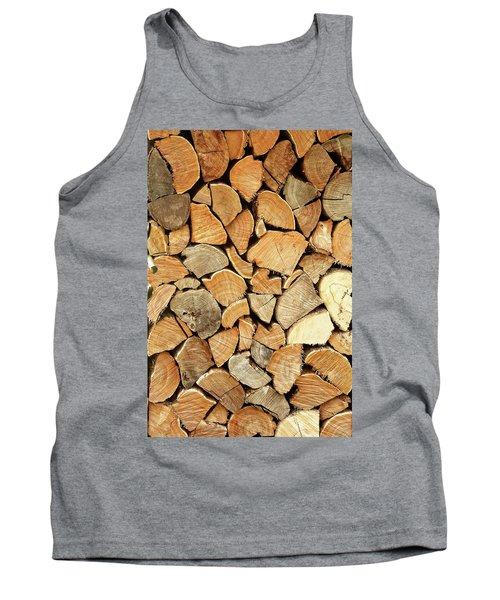 Natural Wood Tank Top