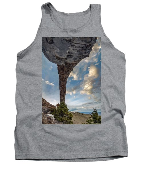 Natural Arch 2 Tank Top by Leland D Howard
