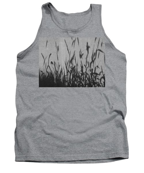 Nature As Shadow Tank Top by Lenore Senior