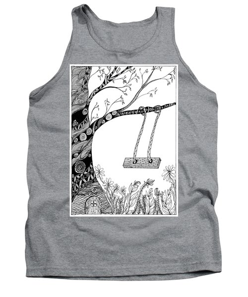 Nature Is Calling Come Out And Play Tank Top