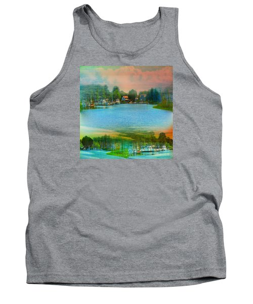 Nature's Magical Sunsets Tank Top by Judy Palkimas