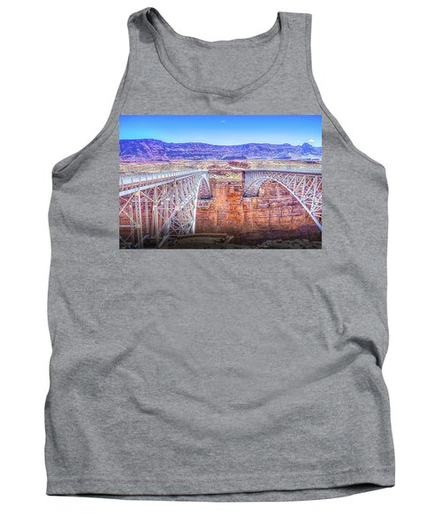 Navajo Bridge Tank Top by Mark Dunton