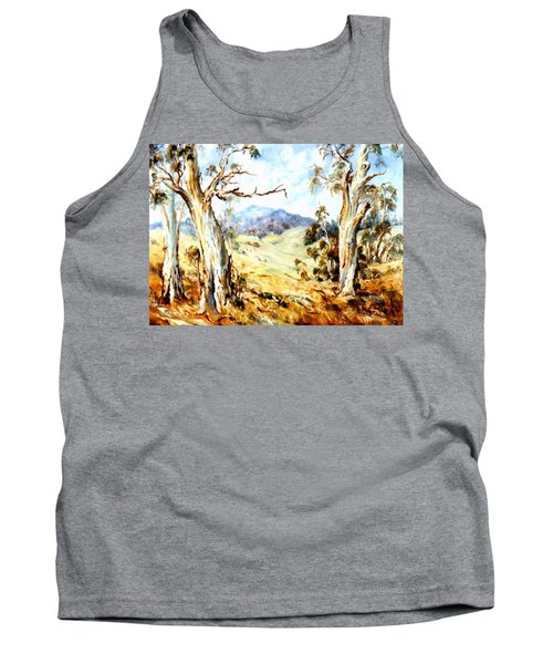 Tank Top featuring the painting Near Avoca by Ryn Shell
