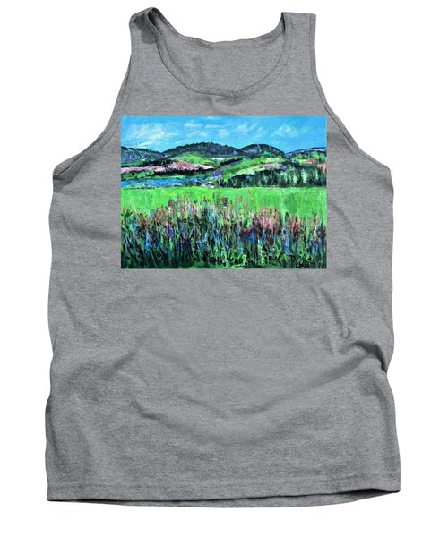 Near Cooperstown Tank Top by Betty Pieper