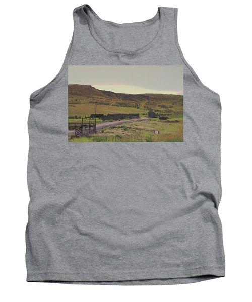 Nebraska Farm Life - The Paddock Tank Top