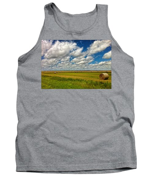 Nebraska Wheat Fields Tank Top