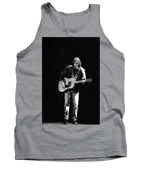 Neil Young Tank Top by Wayne Doyle