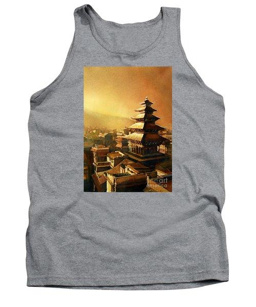 Nepal Temple Tank Top