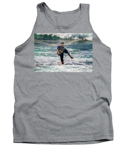 Net Fishing Tank Top by Roger Mullenhour