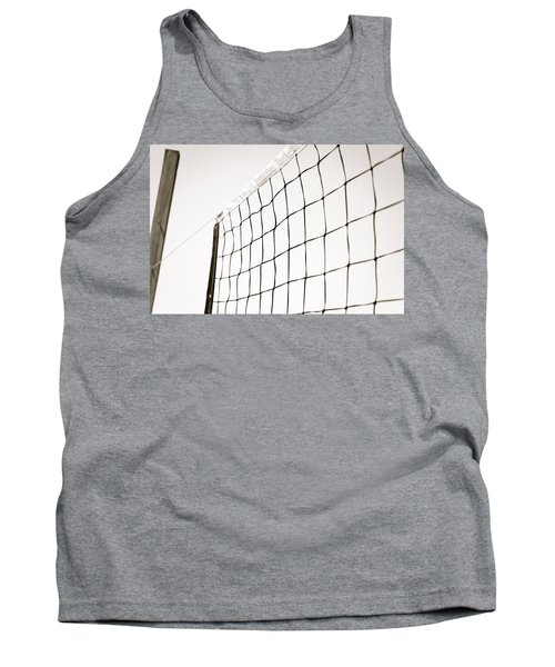 Netted Tank Top by Wade Brooks