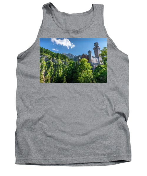 Tank Top featuring the photograph Neuschwanstein Castle by David Morefield