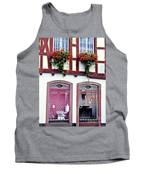 New And Old In Mainz     Tank Top