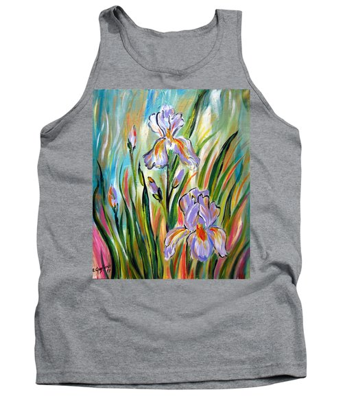 New Irises Tank Top