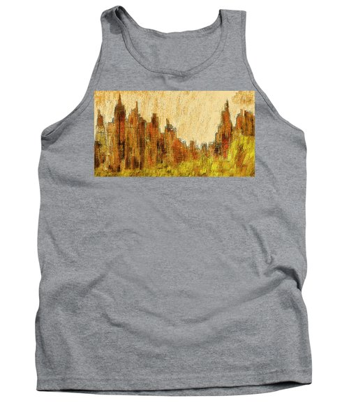 New York City In The Fall Tank Top