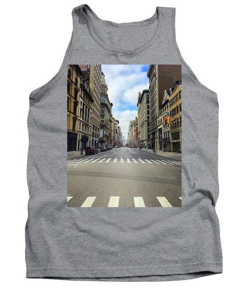 New York Edge Of City Tank Top
