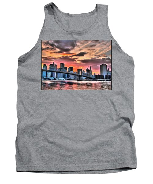 New York Sunset Tank Top