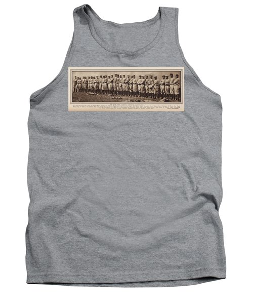 Tank Top featuring the photograph New York Yankees 1916 by Daniel Hagerman