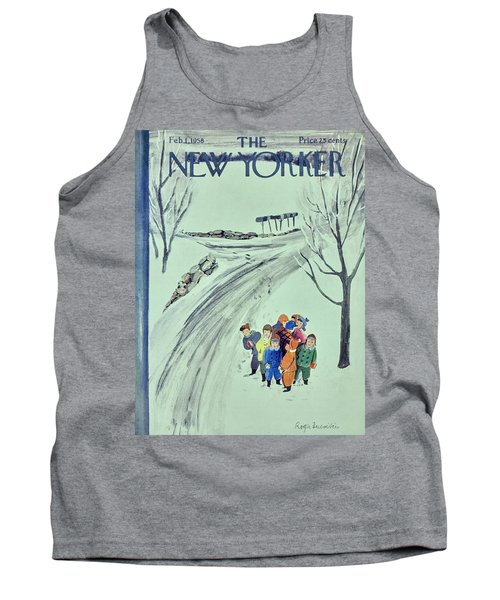 New Yorker February 1 1958 Tank Top