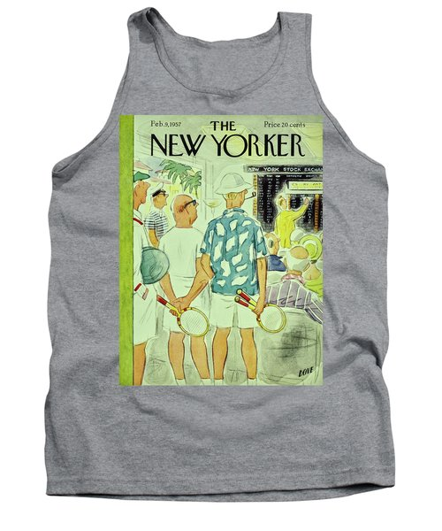 New Yorker February 9 1957 Tank Top