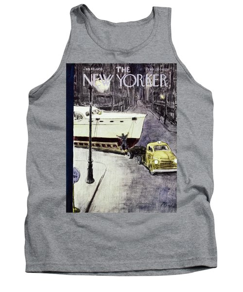 New Yorker January 14 1956 Tank Top