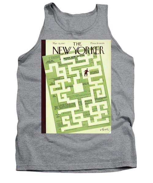 New Yorker March 15 1947 Tank Top
