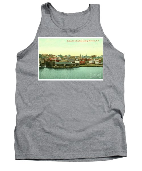 Newburgh Steamers Ferrys And River - 15 Tank Top