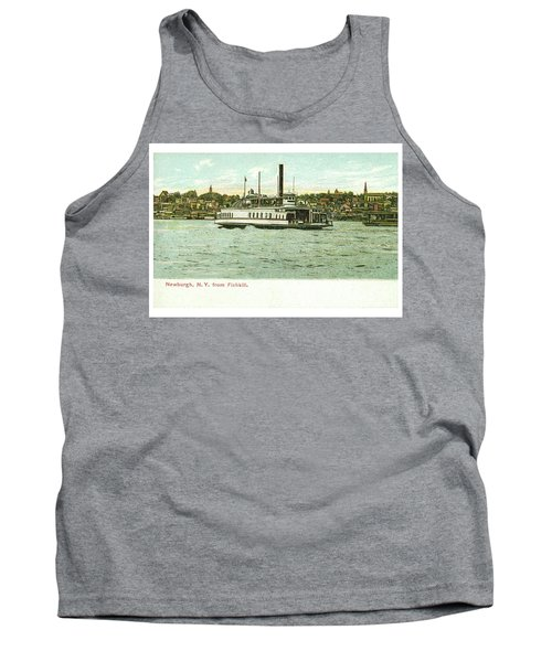 Newburgh Steamers Ferrys And River - 24 Tank Top