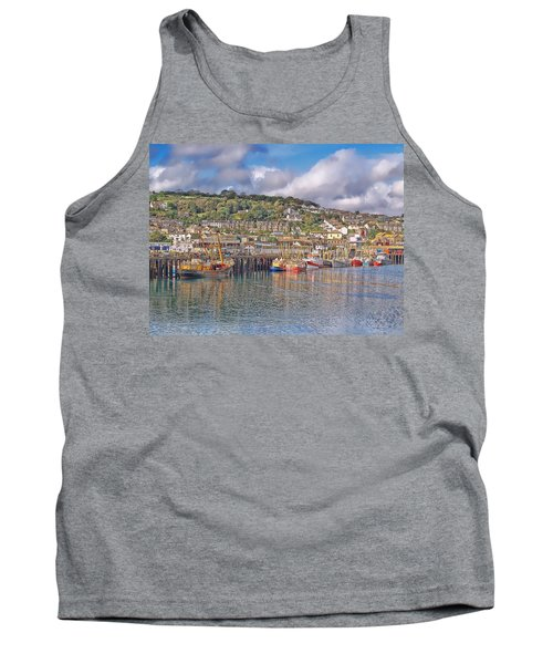 Newlyn Harbour Cornwall 2 Tank Top