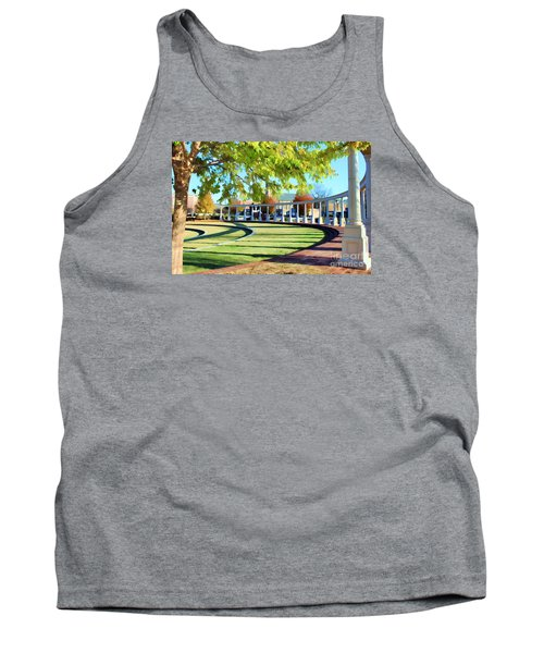 Tank Top featuring the photograph Newnan Park Ampitheatre by Roberta Byram