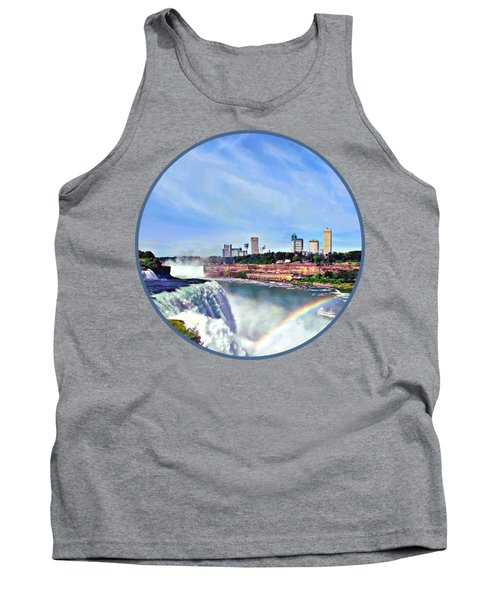 Niagara Falls Ny - Under The Rainbow Tank Top