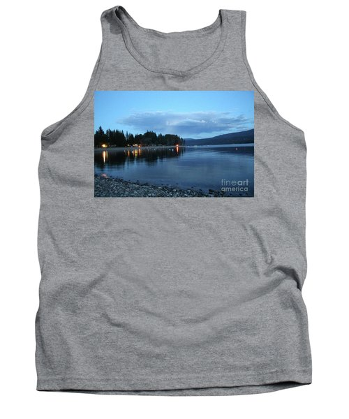 Tank Top featuring the photograph Night Fall by Victor K