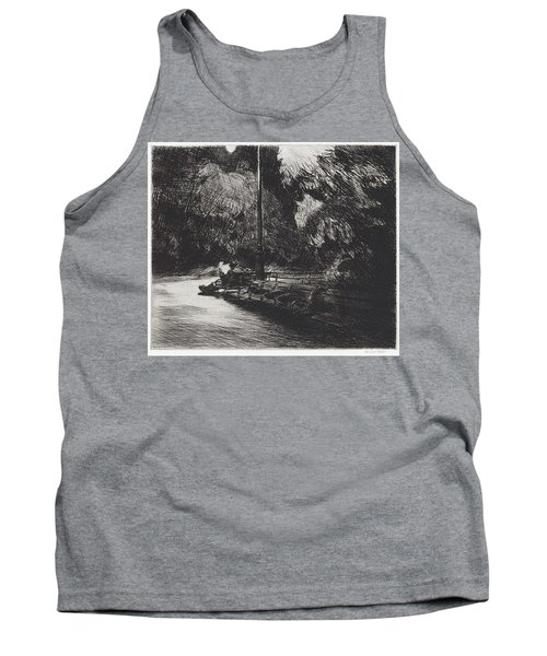 Night In The Park Tank Top