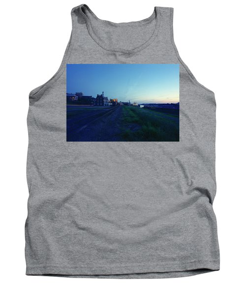 Night Moves On The Mississippi Tank Top by Jan W Faul
