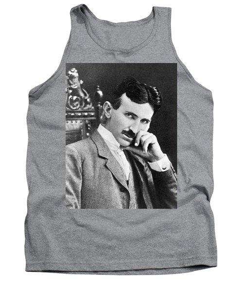 Nikola Tesla Tank Top