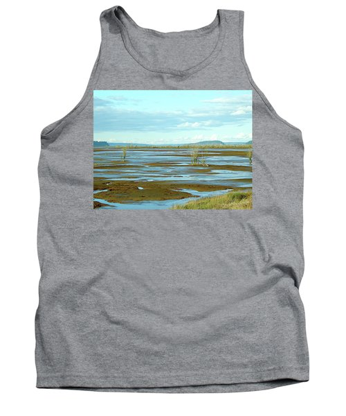 Nisqually Looking North Tank Top
