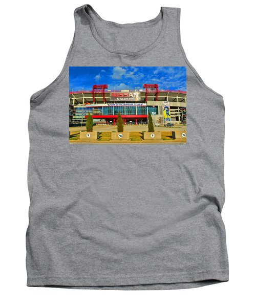 Nissan Stadium Home Of The Tennessee Titans Tank Top