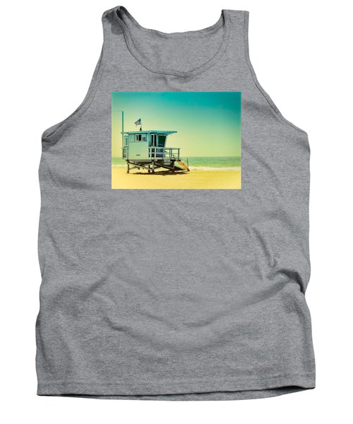 Tank Top featuring the photograph No 16 - Wish You Were Here by Douglas MooreZart