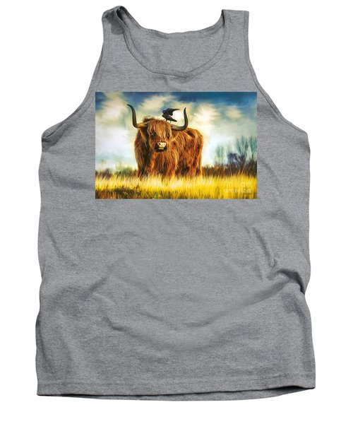 No Crow About It Tank Top