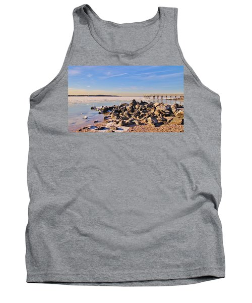 No Swimming Today Tank Top