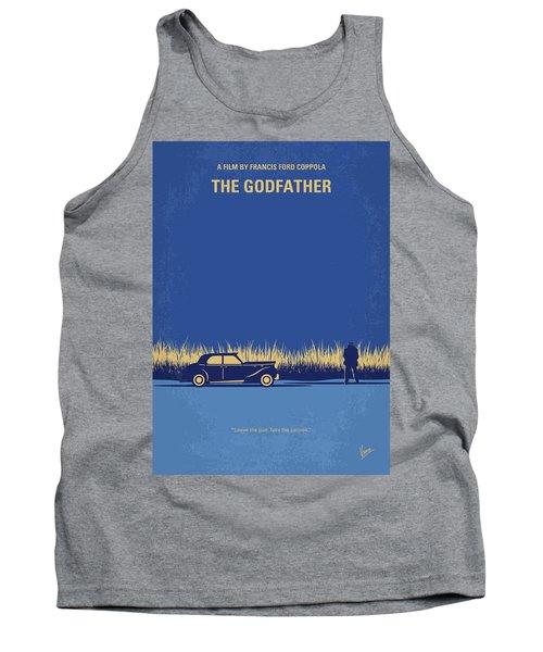 No686-1 My Godfather I Minimal Movie Poster Tank Top