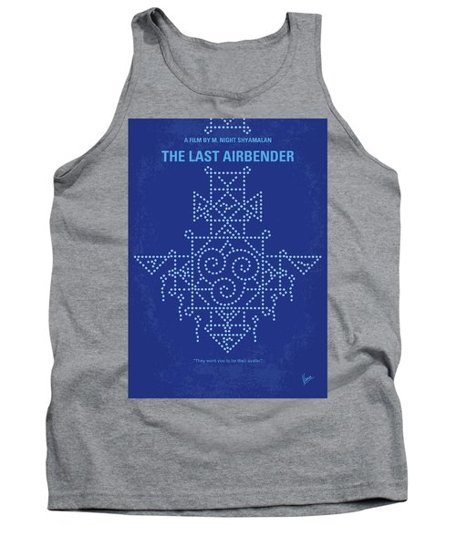 Tank Top featuring the digital art No764 My The Last Airbender Minimal Movie Poster by Chungkong Art